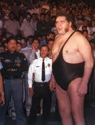 andre de giant famoso wrestler anni '80